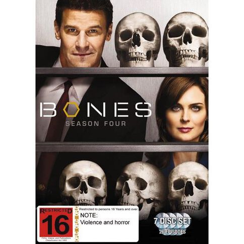 Bones Season 4 DVD 7Disc