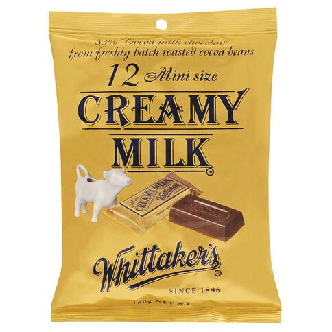 Whittaker's Mini Slab Creamy Milk Share Pack