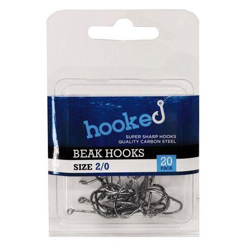 Hooked Beak Hook 2/0 20 Pack