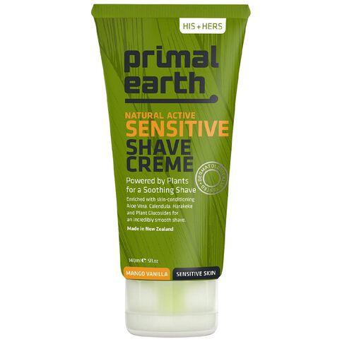 Primal Earth Sensitive Shave Creme 140ml