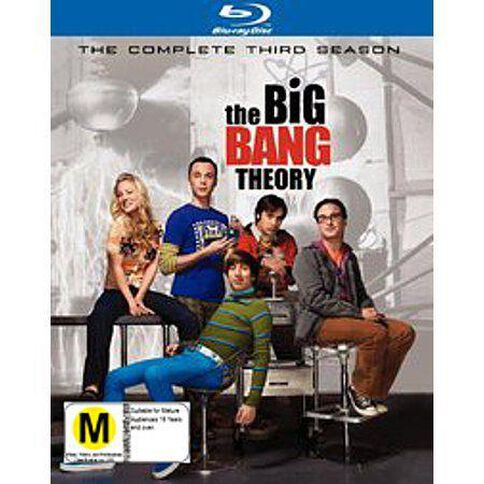 Big Bang Theory Season 3 Blu-ray 2Disc