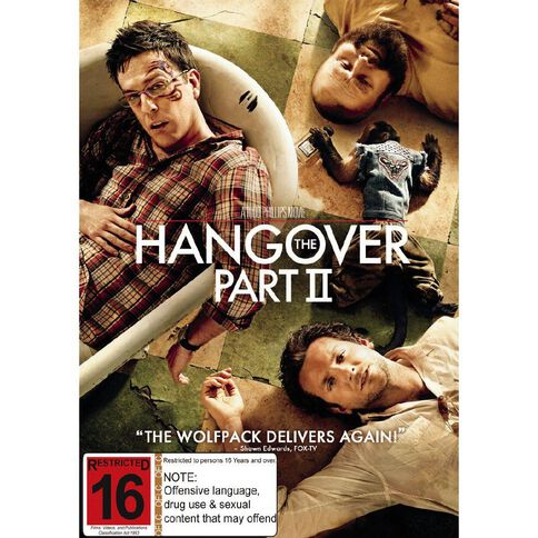 The Hangover 2 DVD 1Disc