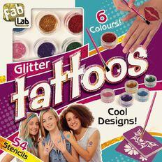 Fab Lab Glitter Tattoo