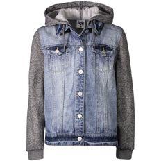 A'nD Contrast Denim Jacket
