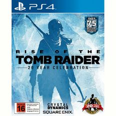 PS4 Rise of the Tomb Raider 20 Year Celebration Edition