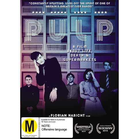 Pulp Go Home DVD 1Disc