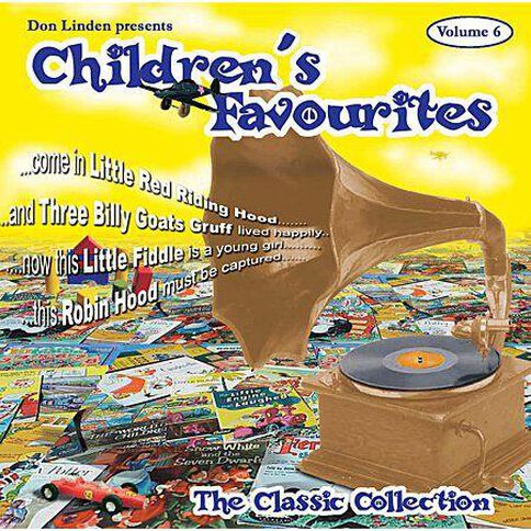 CD Don Linden Childrens Favs Volume 6