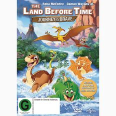 The Land Before Time The Journey of The Brave DVD 1Disc