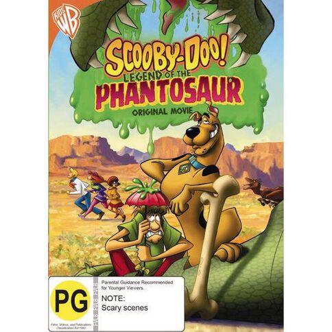 Scooby Doo Legend Of The Phantosaur DVD 1Disc