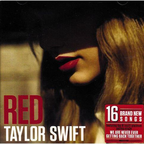 Red CD by Taylor Swift 1Disc