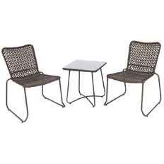 Living & Co Wicker Bistro Set 3 Piece
