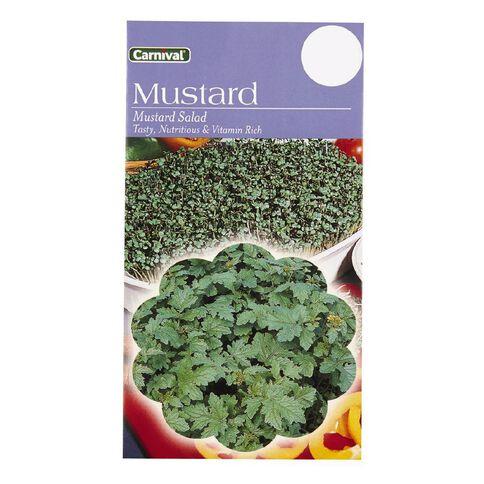Carnival Seeds Mustard Salad