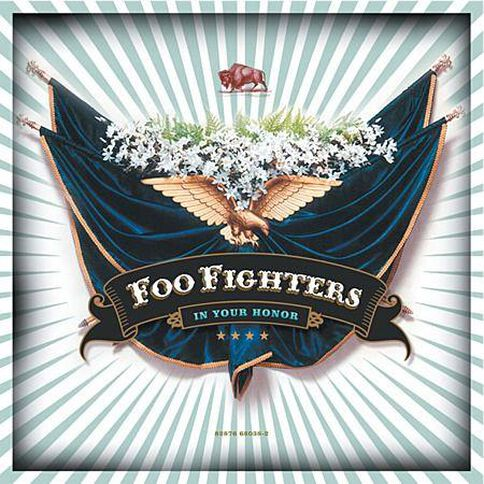 In Your Honor by Foo Fighters 2CD