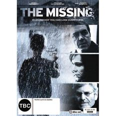 The Missing Season 1 DVD 3Disc