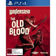 PS4 Wolfenstein The Old Blood