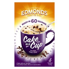 Edmonds Vanilla and Chocolate Cake in a Cup 220g