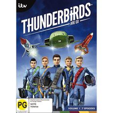 Thunderbirds are Go Volume 1 DVD 1Disc