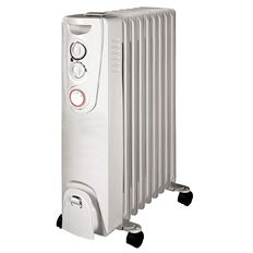 Evantair Heater Oil with Timer 9 Fin