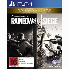 PS4 Rainbow Six Siege Gold Edition