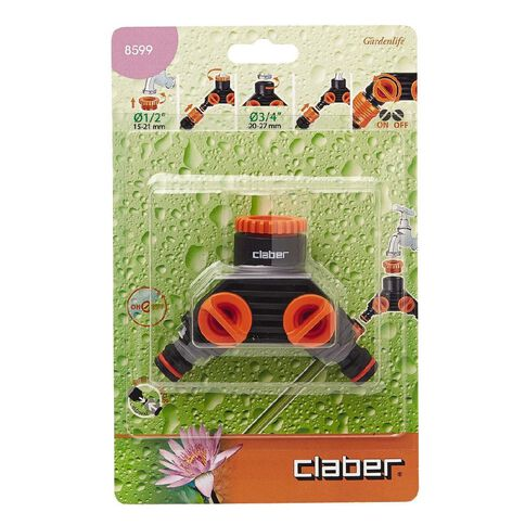Claber Double Tap Adaptor