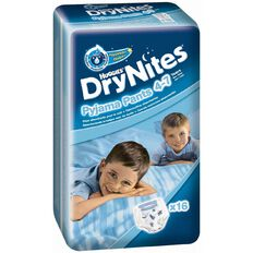 Huggies Drynites Boy Size 4-7 Years 16 Pack