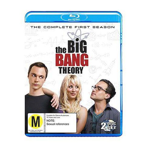 The Big Bang Theory The Complete First Season Blu-ray 2Disc