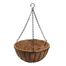 Just Brand Hanging Basket with Liner 30cm
