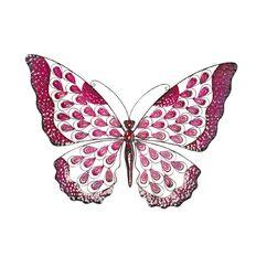 Metal Butterfly  86cm