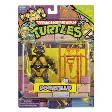 Teenage Mutant Ninja Turtles Retro Basic Figure Assorted