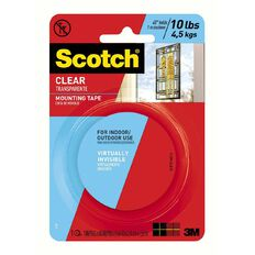 Scotch Clear Mounting Tape 410DC 25mmx 1.5m