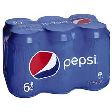 Pepsi Can 355ml 6 Pack