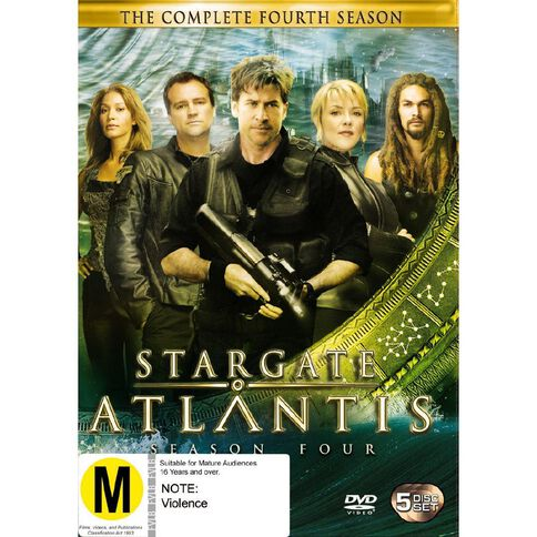 Stargate Atlantis Season 4 DVD 5Disc