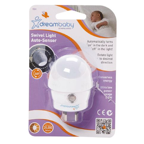 Dreambaby Swivel Auto Sensor Night Light