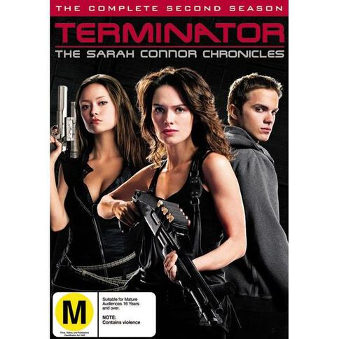Sarah Connor Chronicles Season 2 DVD 6Disc