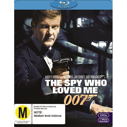Spy Who Loved Me The 2012 Version Blu-ray 1Disc