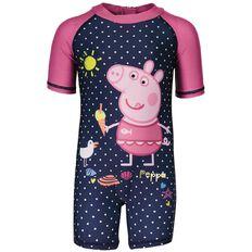 Peppa Pig Girls' Beach Sun Suit