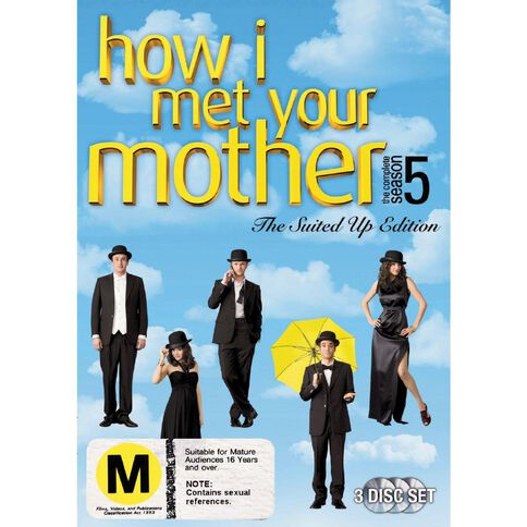 How I Met Your Mother Season 5 DVD 3Disc