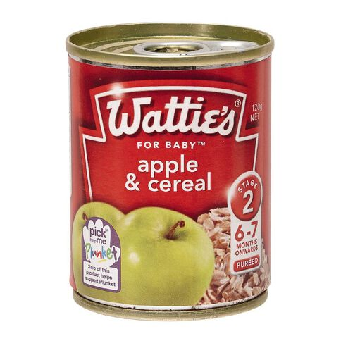 Wattie's Apple Cereal Can 120g
