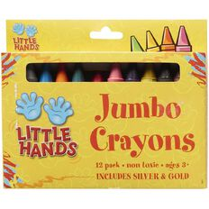 Little Hands Jumbo Crayons 12 Pack