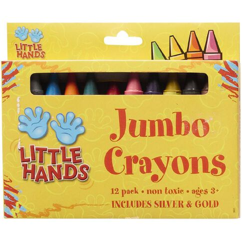 Little Hands Jumbo Crayons 12 Pack