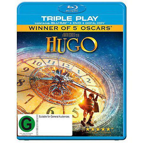 Hugo Blu-ray/DVD 2Discs