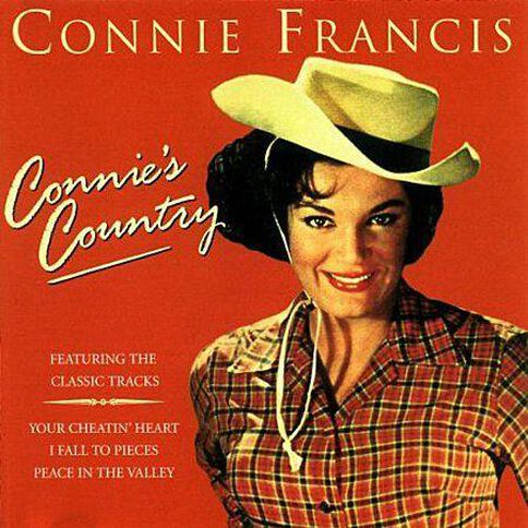 Connies Country CD by Connie Francis 1Disc