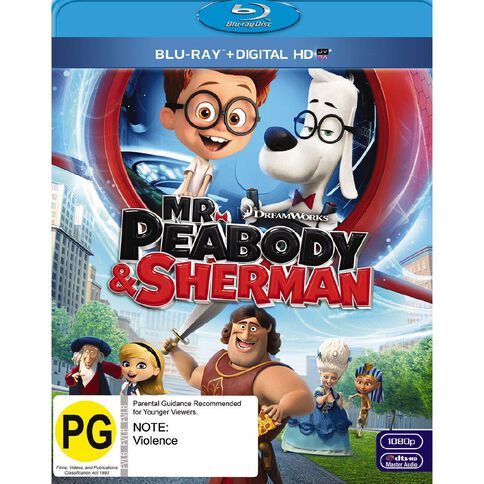 Mr Peabody & Sherman Blu-ray 1Disc