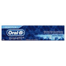 Oral-B 3D White Toothpaste Arctic Fresh 130g