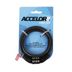 Accelor8 Spiral Bike Lock 100cm