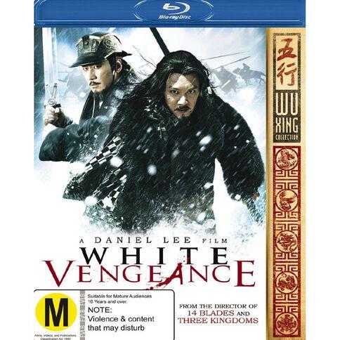 White Vengeance Blu-ray 1Disc