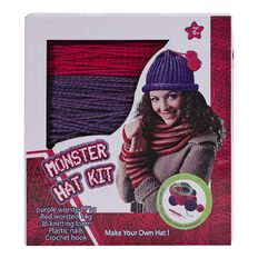 New Craft Kits Knit Your Own Hat
