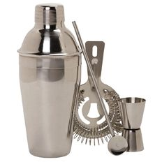 Living & Co Gifts Cocktail Stainless Steel Set 4 Piece