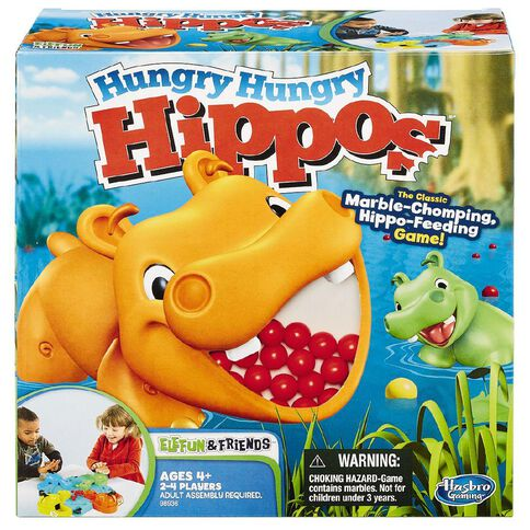 Hungry Hippos Refresh Game