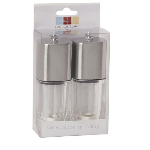 Harrison & Lane Square Salt & Pepper Grinder 13cm